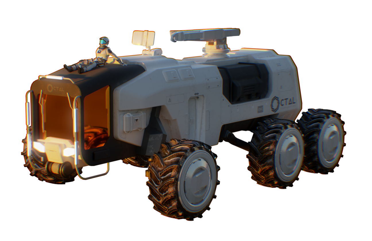 Io rover The Pioneers